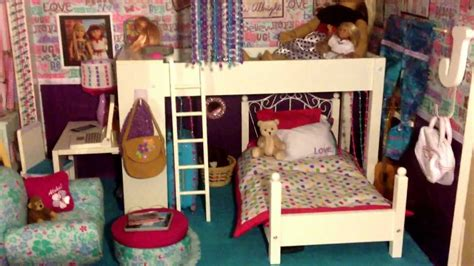 my ag doll house american girl doll house tour youtube