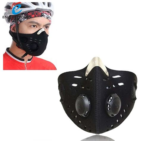 Masker Filter half mask bike bicycle cycling mask sports mask anti dust outdoor sports mask filter air