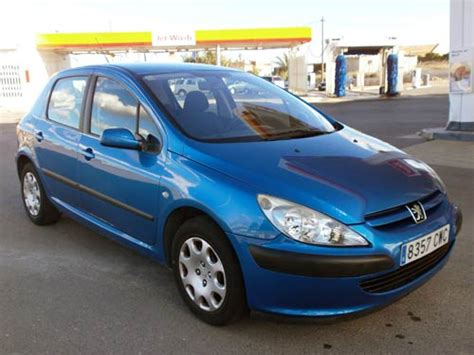 peugeot automatic used cars peugeot 307 auto tipronic used car costa blanca spain