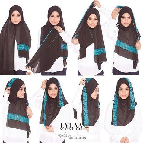 tutorial pashmina fatin suhana fatin liyana hijab style pinterest shawl