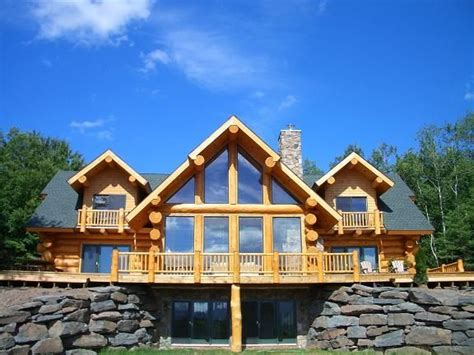top 5 luxurious log cabins in the us travefy luxury log home with ski windham views vrbo