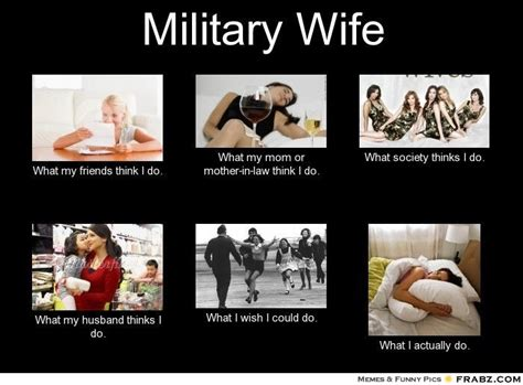 Military Spouse Meme - military wife meme