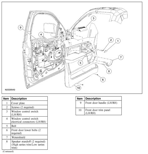 2006 ford f150 parts diagram drivers door wiring diagram for ford f 250 wiring