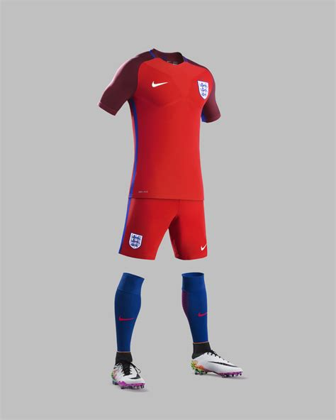 desain jersey nike football england unveil new home and away kits for euro 2016 in