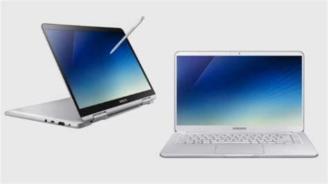 2018 samsung notebook 9 pro 13 quot with s pen ultraboooks samsung notebook 9 2018 price and availability details announced gizbot news