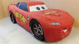 Lightning Car Top Gear Artist Builds Lightning Mcqueen From Cars Top Gear
