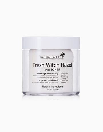 Toner Pacific Fresh Witch Hazel Pad Toner By Pacific Beautymnl