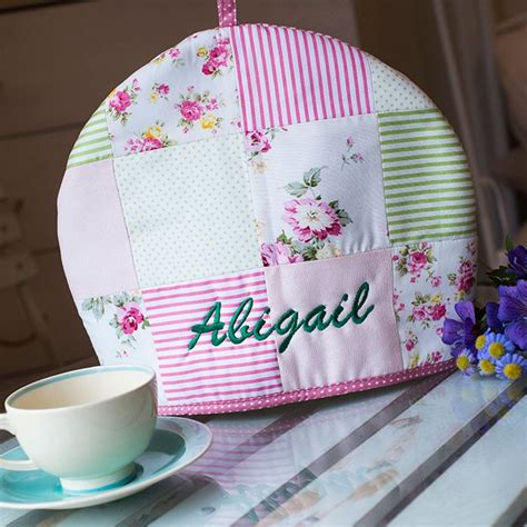 Patchwork Tea Cosy - personalised patchwork tea cosy gettingpersonal co uk