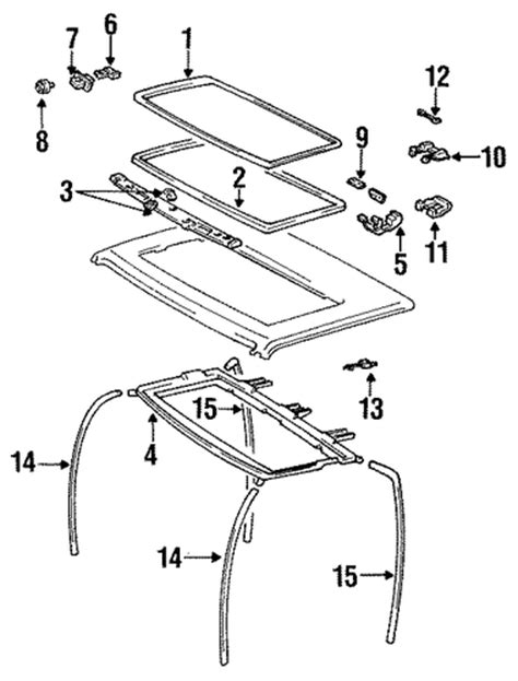 Parts For 1988 Toyota Sunroof For 1988 Toyota