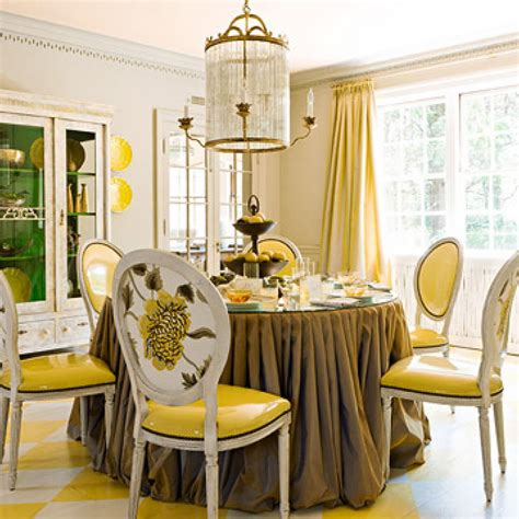 traditional home decoration inspirational ideas for a yellow dining room light of