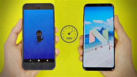 Android Oreo S8 by Pixel Official Android 8 0 Oreo Vs Galaxy S8
