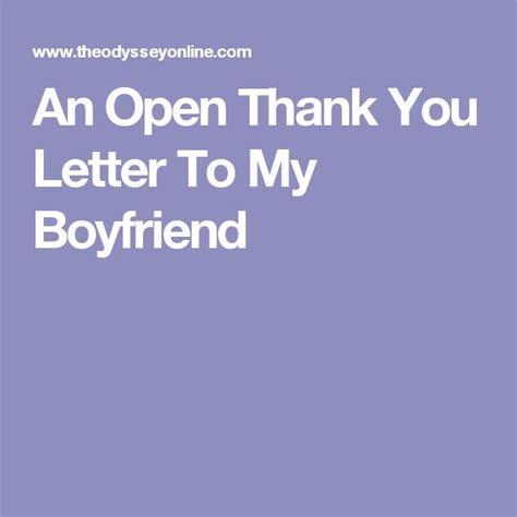 thank you letter to boyfriend s best 25 letter to my boyfriend ideas on
