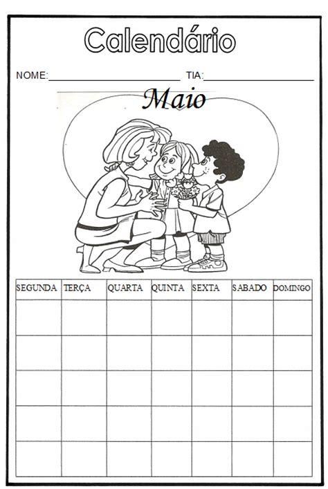 Calendã Mãªs De Maio Brincando E Alfabetizando Calend 225 Maio