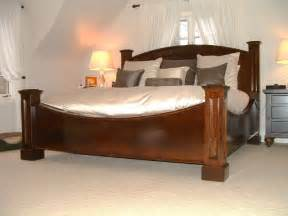 baron bed king size traditional bedroom newark