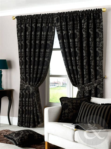 retro curtains ready made luxury vintage curtains velvet heavy pencil pleat lined