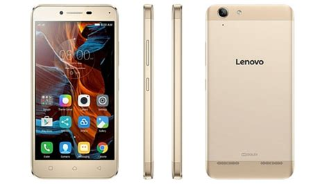 Soft Gold Lenovo K5 K5 Plus lenovo vibe k5 plus with 2 gb ram and a removable battery launched in india for 8 499