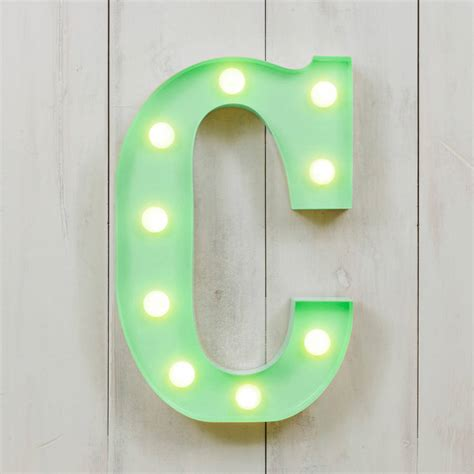 vegas metal led circus letter light d by all things