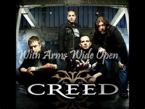 creed with arms wide open mp creed with arms wide open sounds pinterest
