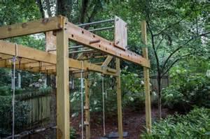 backyard ninja warrior plans full course front view jpg backyard ideas pinterest