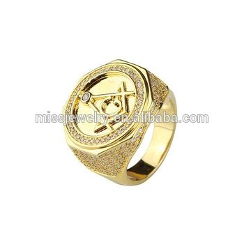 cheap wholesale stainless steel masonic chionship ring