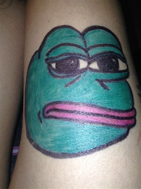 pepe tattoo pepe the frog