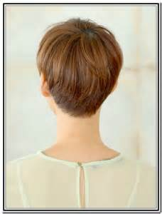 hairstylescuts for hair with back and front view back views of short haircuts for women pixie haircuts
