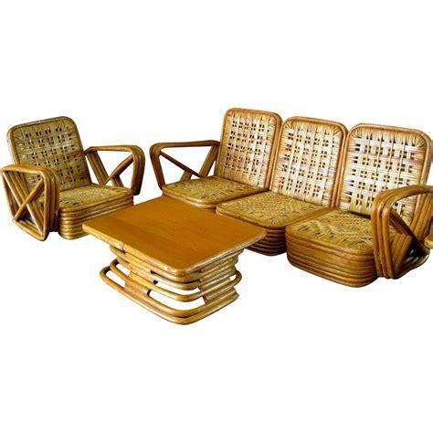 Paul Frankl Furniture paul frankl salesman sle rattan furniture c 1950 vintage miniature from stonehouseantiques on