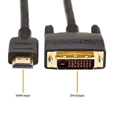 Amazonbasics Dvi by Amazonbasics Hl 007346 Dvi To Hdmi Adapter Cable 3