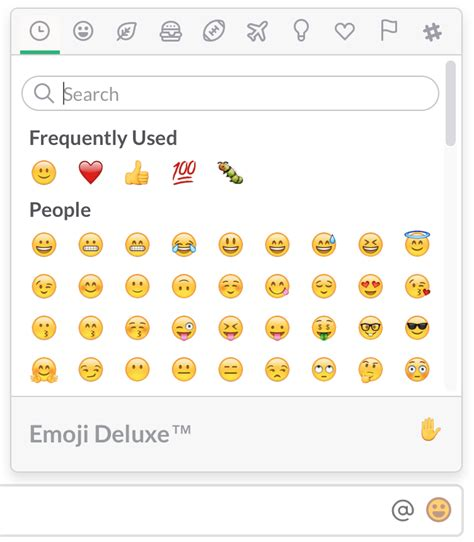 how to get color emoji on android use emoji and emoticons slack help center