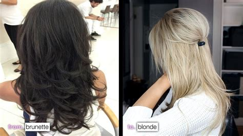 what blonde cor can be put over light ginger diy from brunette to blonde how i maintain my color