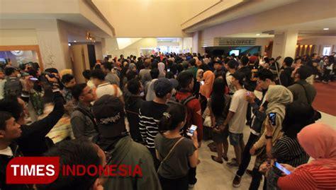 cineplex sarinah malang artis warkop reborn hebohkan malang times indonesia