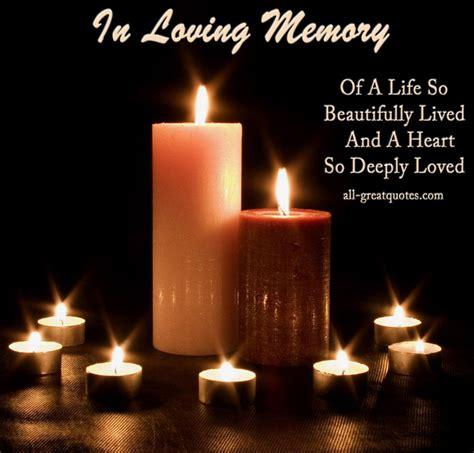 In Memory by Best In Loving Memory In Memoriam Poems Verses On Cards