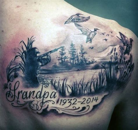25 stylish hunting shoulder tattoo