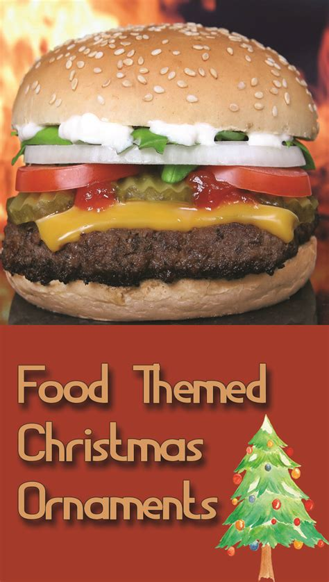 themed ornaments food themed ornaments