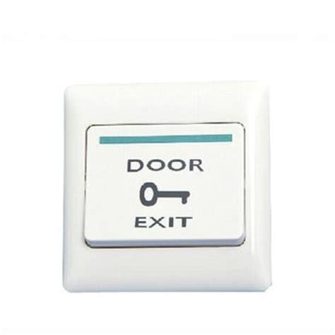 push button release door exit push release button switch light wall switch for