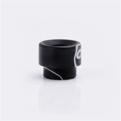 Goon 24 Rda 1 13mm acrylic black grey wide bore drip tip for 1 2 quot goon kennedy rda