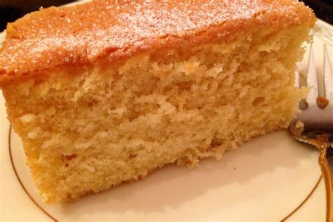 Bestest As Light And Fluffy As A Butter Cake Can Be Light Cake Recipe