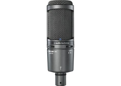 Audio Technica At2020 Usb audio technica at2020 usb plus cardioid studio condenser