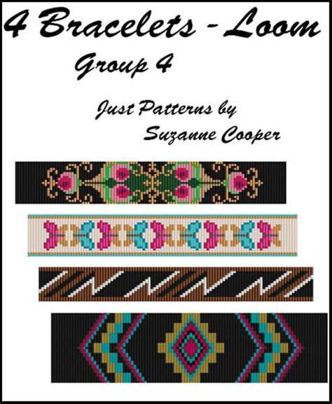 loom beading books free loom beading patterns for bracelets jewelry