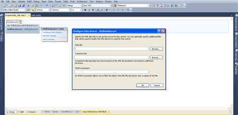 xml tutorial in asp net how to bind dropdownlist with xml file in asp net