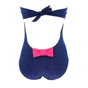 maillot de bain 1 maillot de bain 1 pi 232 ce plumety bleu plumety par banana moon