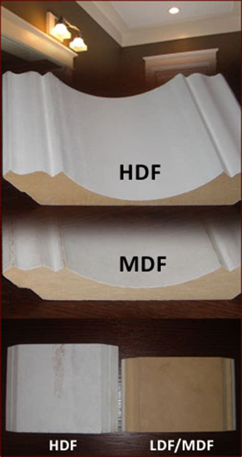 mdf vs hdf the difference michael s crown moulding and baseboard installation about us