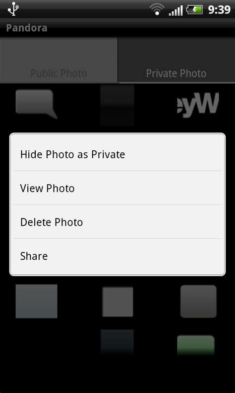 imagenes ocultas en android app pandora oculta fotos y v 237 deos en tu android sobre