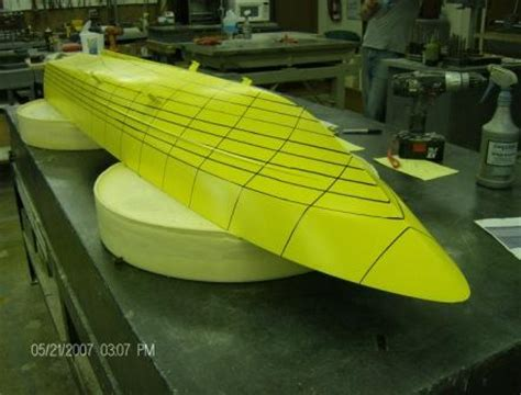 tow boat hull design fiberglass plugs patterns molds accurate pattern