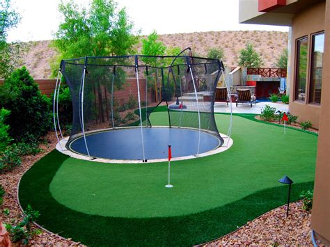 golf putting greens for backyard six things to know about synthetic lawns artificial turf express