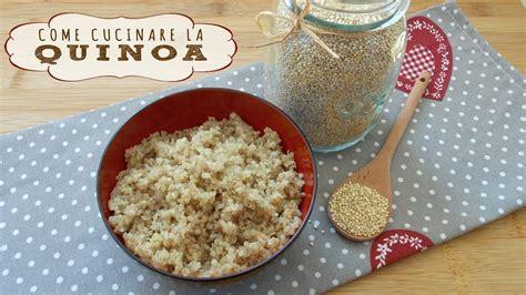 cucinare la quinoa come cucinare la quinoa