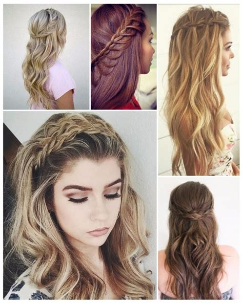 peinados de fiesta para pelo no tan largo 80 peinados faciles con trenzas cabello corto y largo