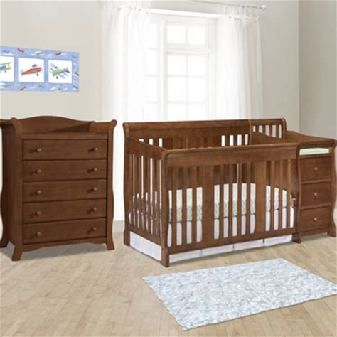 Stork Craft Portofino Dresser by Storkcraft 2 Nursery Set Portofino Convertible