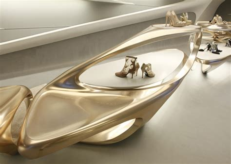 designboom zaha hadid shoes zaha hadid s hong kong boutique for stuart weitzman buro