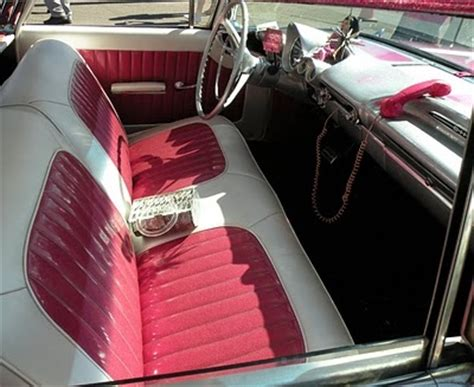 tuck n roll upholstery pink tuck n roll in 59 elcamino el camino cars and parts